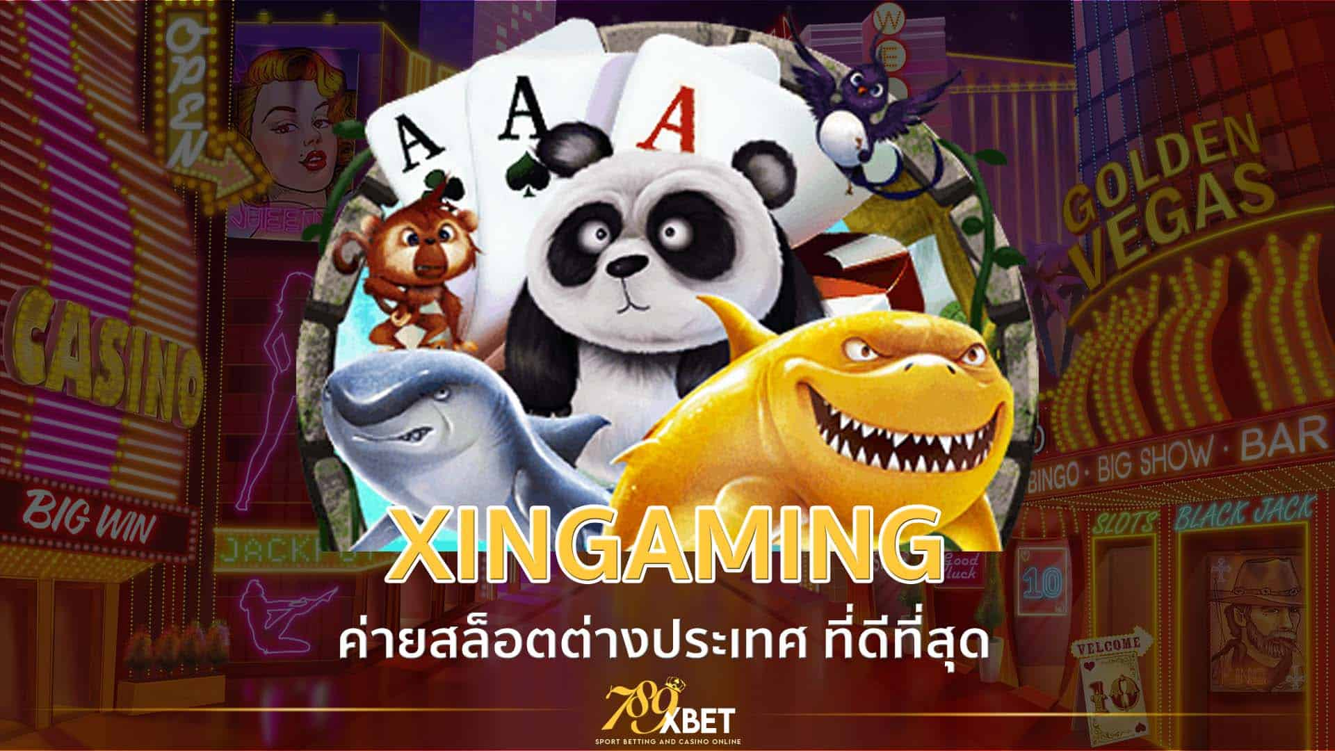 XIN GAMING ค่ายสล็อตเปิดใหม่ 2021